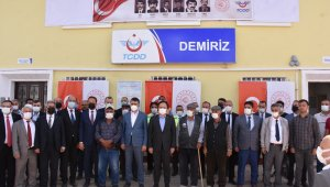 Terör örgütü PKK'nın şehit ettiği 6 TCDD personeli ile 2 sivil vatandaş anıldı