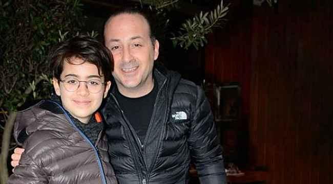 Tolga Çevik'in oğlu babasının boyunu aşmış