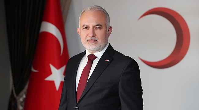 Türk Kızılay kuruluşunun 153'üncü yılını kutluyor