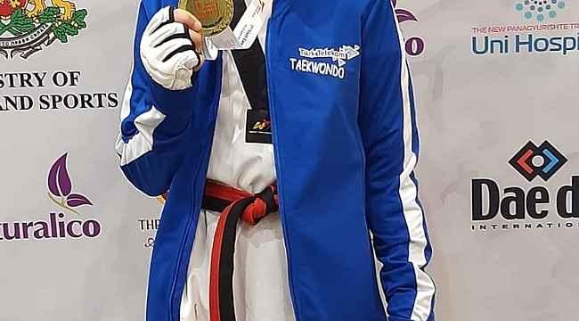 Türk Telekom tekvandocusu Avrupa Şampiyonu oldu