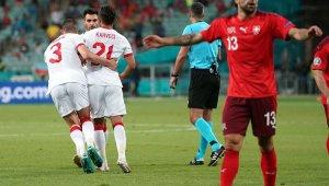 Turnuvadaki ilk gol İrfan Can'dan