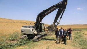 Tuşba'da çiftçilere tam destek
