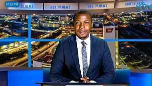 TV sunucusu canlı yayın esnasında haberleri yarıda keserek maaş alamadıkları için isyan etti