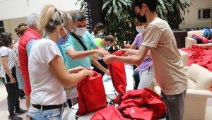 Uluslararası 6. Sınırsız Dostluk Yarı Maratonu için sporcular kitlerini aldı