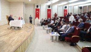 Vali Demirtaş, STK temsilcilerine bir yıllık faaliyetlerini anlattı