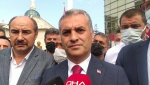 Vali Ustaoğlu Yomra Belediye Başkanı Bıyık'a düzenlenen silahlı saldırı sonrası olay yerine geldi