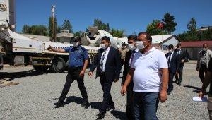 Varto İlçe Emniyet Müdürlüğü binasının temeli törenle atıldı