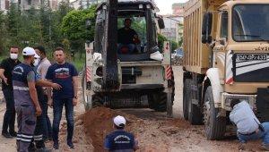 Vefa Küçük Caddesinde içme suyu hattı yenileniyor