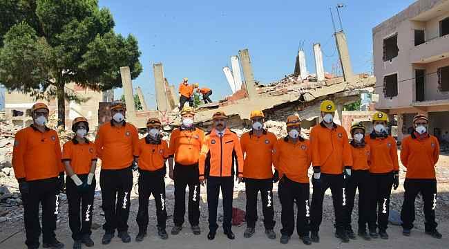 YAK'tan nefes kesen deprem tatbikatı - Bursa Haberleri