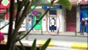 Yasa dışı bahisten kazandığı paraları ATM'den çekerken yakalandı