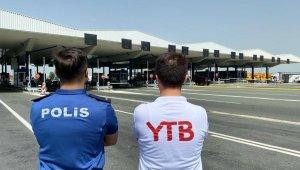 """YTB: """"Avrupa'daki vatandaşlar Türkiye yolunda bu yıl da yalnız değil"""""""