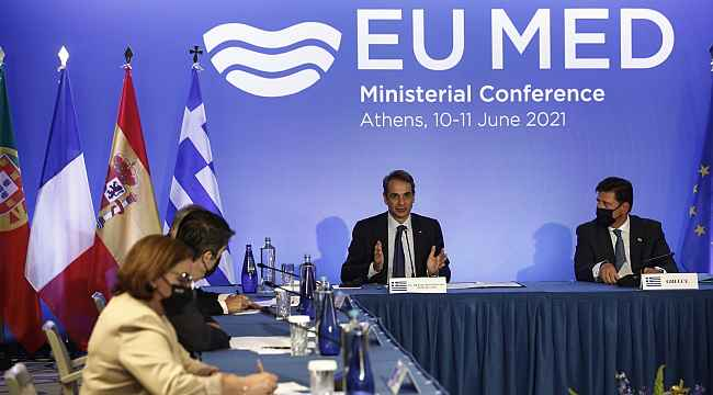 """Yunanistan Başbakanı Miçotakis: """"Türkiye ile pozitif bir gündeme açığız"""""""