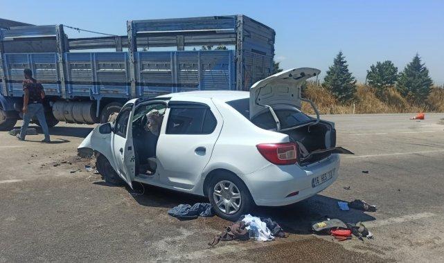 Karacabey'de kaza: 1 yaralı - Bursa Haberleri