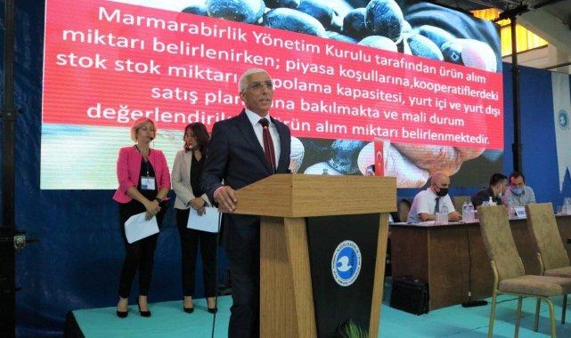 Marmarabirlik genel kurulu yapıldı - Bursa Haberleri