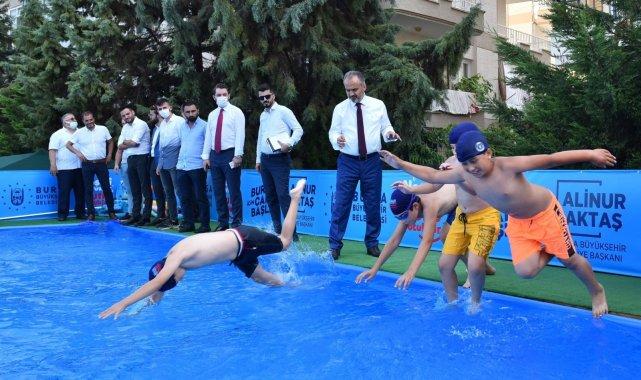 Mudanya'da olimpik yüzme havuzu martılara kaldı - Bursa Haberleri