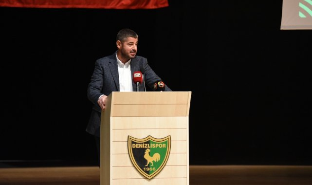 Denizlispor'un yeni başkanı Mehmet Uz oldu