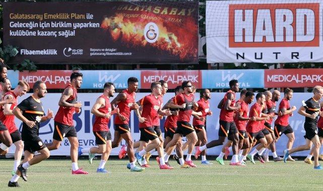 Galatasaray, St. Johnstone maçının taktiğini çalıştı