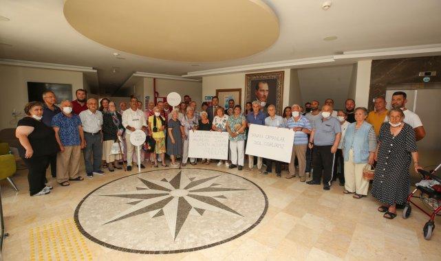 Huzurevinden felâket bölgesine anlamlı destek - Bursa Haberleri