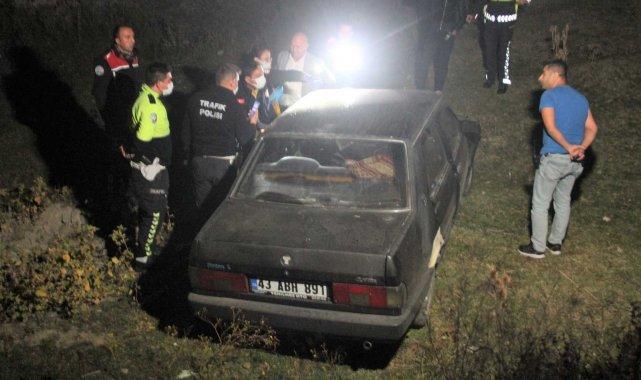 Polisten kaçan şüphelinin trafik kazası sonucu öldüğü belirlendi