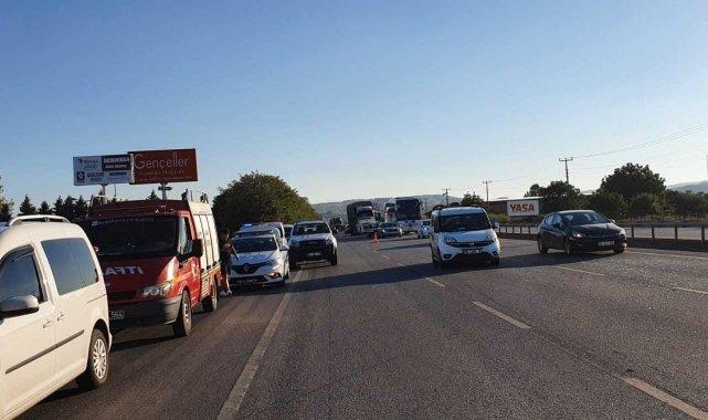 Susurluk'ta trafik kazası: 4 yaralı