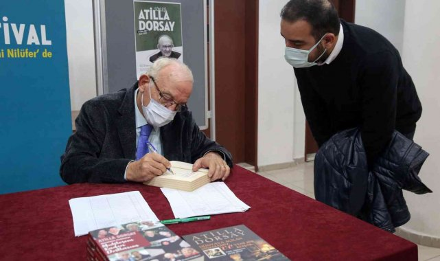Atilla Dorsay hayatının dönüm noktalarını anlattı - Bursa Haberleri