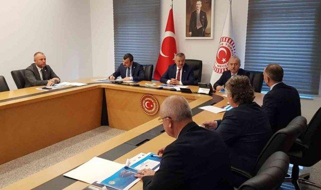 Kdz. Ereğli'nin talepleri TBMM'de milletvekillerine iletildi