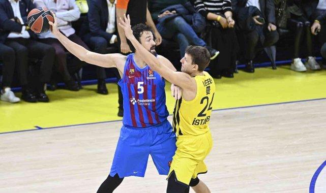 THY EuroLeague: Fenerbahçe: 74 - Barcelona: 76