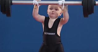 Bebekler Olimpiyat Oyunları'nda yarışırsa :)