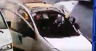 Tüp patlaması kameraya yansıdı, içinde insan şok etti!